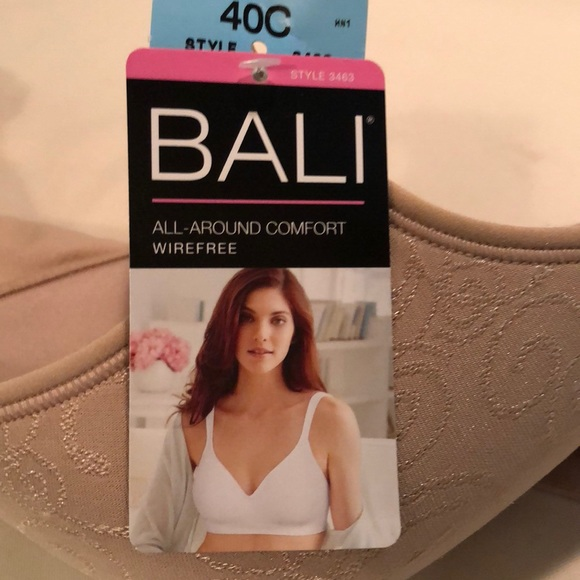 f23fc4a982 Bali All-Around Comfort Wirefree Bra in Nude 40C. NWT